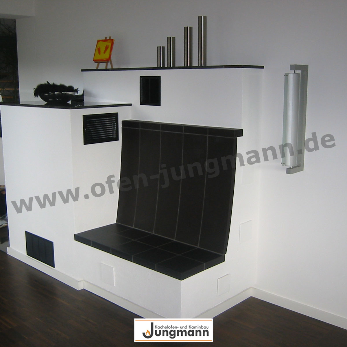 referenzen f r kamine kaminbau ofen kaminofen in. Black Bedroom Furniture Sets. Home Design Ideas
