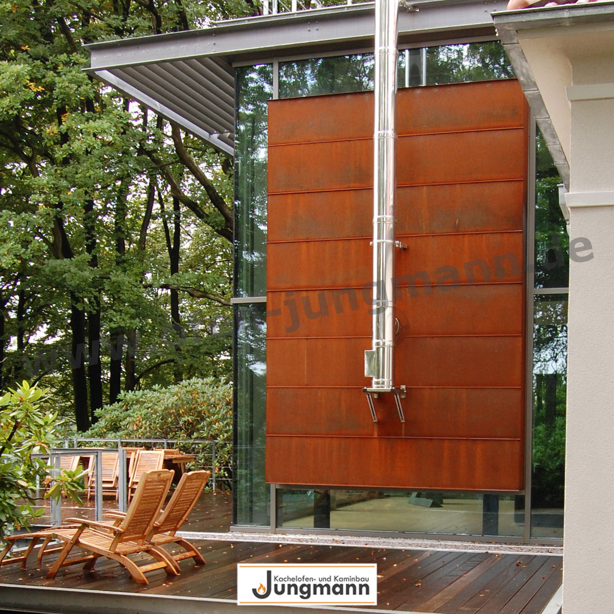 kaminofen cortenstahl klimaanlage und heizung zu hause. Black Bedroom Furniture Sets. Home Design Ideas